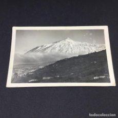 Postales: POSTAL FOTOGRAFICA DE SANTA CRUZ DE TENERIFE - EL TEIDE - CIRCULADA. Lote 183662142
