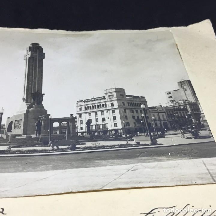 Postales: CURIOSA ANTIGUA POSTAL DE TENERIFE - PLAZA ESPAÑA, MONUMENTO A LOS CAIDOS - GARRIGA - SIN CIRCULAR - Foto 4 - 183663837