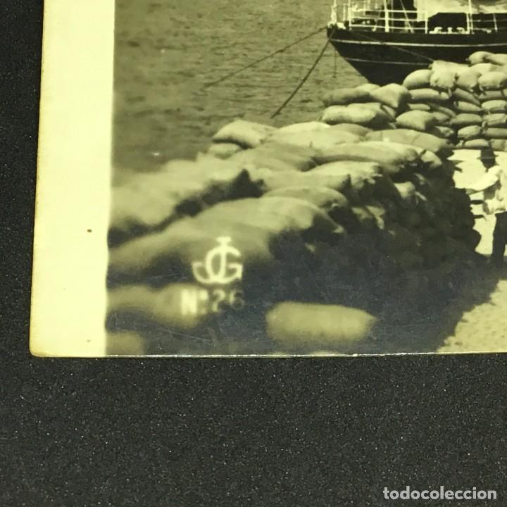 Postales: ANTIGUA POSTAL FOTOGRÁFICA DE SANTA CRUZ DE TENERIFE - MUELLE - EDICIONES JC - Nº 26 - SIN CIRCULAR - Foto 4 - 183664293