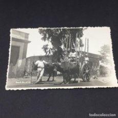 Postales: ANTIGUA POSTAL DE TENERIFE - UNA CARRETA - EDICIONES CIF. - SIN CIRCULAR. Lote 183665150