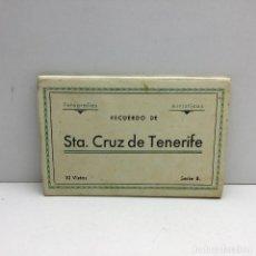 Postales: RECUERDO DE SANTA CRUZ DE TENERIFE - 10 POSTALES FOTOGRÁFICAS - SERIE B - M. ARRIBAS - ZARAGOZA . Lote 183768972