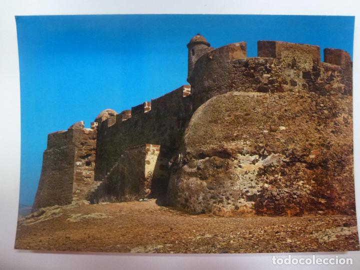 POSTAL. 5241. LANZAROTE. LA ISLA DE LOS VOLCANES. TEGUISE, CASTILLO DE GUANAPAY. ED. GASTEIZ. (Postales - España - Canarias Moderna (desde 1940))