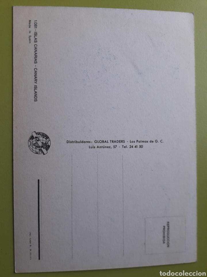 Postales: Islas Canarias Mapa Tarjeta Postal no Escrita 1081 Global Traders - Foto 2 - 183809993