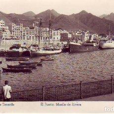 Postales: SANTA CRUZ TENERIFE MUELLE RIVERA -ED ARRIBAS. Lote 183878683
