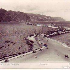 Postales: SANTA CRUZ TENERIFE MUELLE ED. ARRIBAS. Lote 183879750
