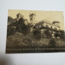Postales: POSTAL ORIGINAL. 6.5 X 4.6CM. DÉCADA 30. Nº 1410. STA CRUZ DE TENERIFE. GRAN HOTEL QUISISANA. Lote 183951432
