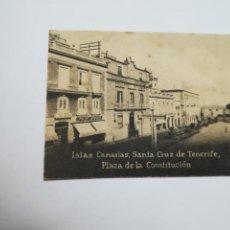 Postales: POSTAL ORIGINAL. 6.5 X 4.6CM. DÉCADA 30. Nº 1415. TENERIFE. PLAZA DE LA CONSTITUCION. Lote 183951611