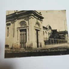 Postales: POSTAL ORIGINAL. 6.5 X 4.6CM. DÉCADA 30. Nº 1407. STA CRUZ DE TENERIFE. ESCUELAS PUBLICAS. Lote 183952225