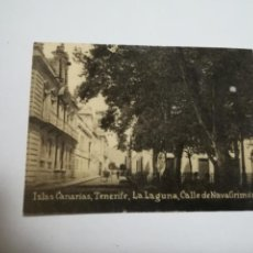 Postales: POSTAL ORIGINAL. 6.5 X 4.6CM. DÉCADA 30. Nº 1426. STA CRUZ DE TENERIFE. CALLE DE NAVA GRIMON. Lote 183952386