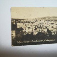 Postales: POSTAL ORIGINAL. 6.5 X 4.6CM. DÉCADA 30. Nº 1387. LAS PALMAS. VISTA PARCIAL. Lote 184047063
