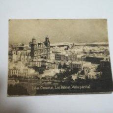 Postales: POSTAL ORIGINAL. 6.5 X 4.6CM. DÉCADA 30. Nº 1389. LAS PALMAS. VISTA PARCIAL. Lote 184047523