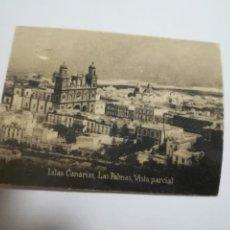 Postales: POSTAL ORIGINAL. 6.5 X 4.6CM. DÉCADA 30. Nº 1389. LAS PALMAS. VISTA PARCIAL. Lote 184143435