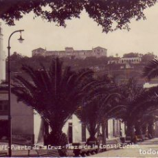 Postales: TENERIFE PUERTO DE LA CRUZ PLAZA DE LA CONSTITUCION. Lote 184161881