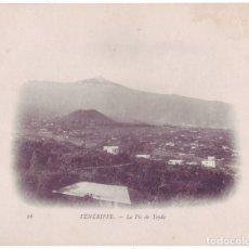Postais: TENERIFE: EL PICO DEL TEIDE. DUGUAY TROUIN. NO CIRCULADA (1902-1903). Lote 184261137