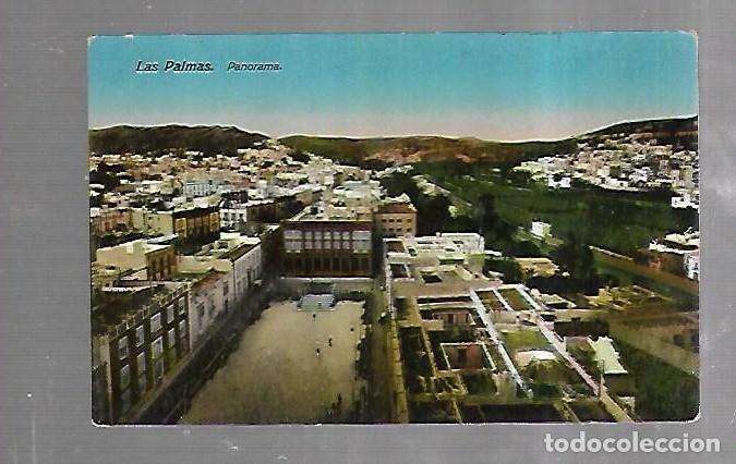 TARJETA POSTAL DE LAS PALMAS. PANORAMA. 18. RODRIGUEZ BROS (Postales - España - Canarias Antigua (hasta 1939))
