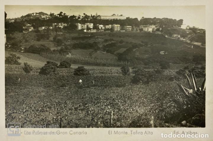TARJETA POSTAL. LAS PALMAS DE GRAN CANARIA. EL MONTE TARIFA ALTA. 149. ED. ARRIBAS. (Postales - España - Canarias Moderna (desde 1940))
