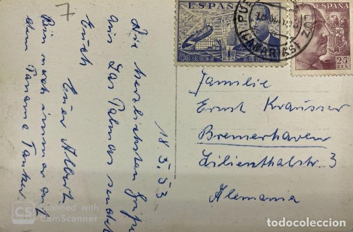 Postales: TARJETA POSTAL. LAS PALMAS DE GRAN CANARIA. EL MONTE TARIFA ALTA. 149. ED. ARRIBAS. - Foto 2 - 185874926