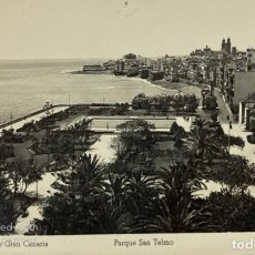 Postales: TARJETA POSTAL. LAS PALMAS DE GRAN CANARIA. PARQUE SAN TELMO 81. ED. ARRIBAS. Lote 185875007