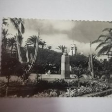 Postales: TARJETA POSTAL. LAS PALMAS DE GRAN CANARIA. PARQUE DE SAN TELMO. 1. EDICIONES LUJO. Lote 185922616