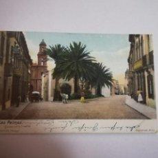 Postales: TARJETA POSTAL. LAS PALMAS. CANARISCHE INSETN. J.PERESTRELLO. Lote 185924658