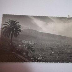 Postais: TARJETA POSTAL. SANTA CRUZ DE TENERIFE. LA OROTAVA. VALLE DE LA OROTAVA Y EL TEIDE. 111. ED.LUJO. Lote 185926051
