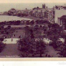 Postales: GRAN CANARIA LAS PALMAS PARQUE SAN TELMO. Lote 186294023