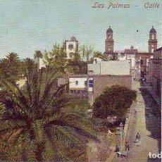 Postales: GRAN CANARIA LAS PALMAS CALLE GRANADOS. Lote 186294121