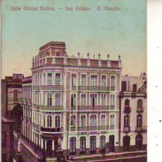 Postales: GRAN CANARIA LAS PALMAS CALLE OBISPO CODINA. Lote 186294462