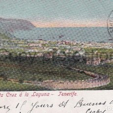Postales: TENERIFE - SUBIDA DE SANTA CRUZ A LA LAGUNA - ED. NOBREGAS ENGLISH BAZAR . Lote 186306586