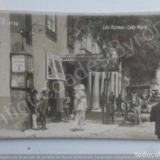 Postales: LAS PALMAS. CALLE MURO. FOTO BAENA Nº 75. Lote 186350045