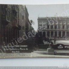 Postales: LAS PALMAS DE GRAN CANARIA. AYUNTAMIENTO Y PLAZA DE STA. ANA. JG Nº 42. Lote 186352465