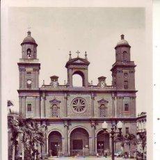 Postales: GRAN CANARIA LAS PALMAS LA CATEDRAL. Lote 186374685