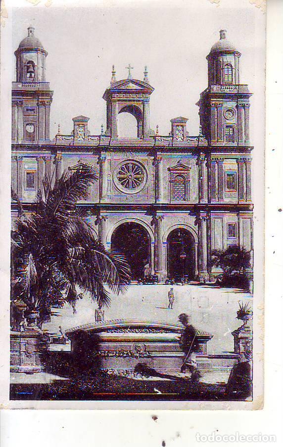 GRAN CANARIA LAS PALMAS LA CATEDRAL (Postales - España - Canarias Moderna (desde 1940))