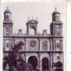Postales: GRAN CANARIA LAS PALMAS LA CATEDRAL. Lote 186374738