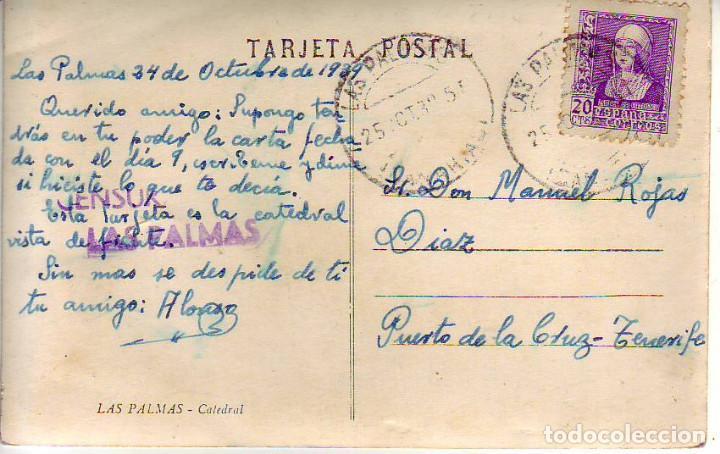 Postales: GRAN CANARIA LAS PALMAS LA CATEDRAL - Foto 2 - 186374738