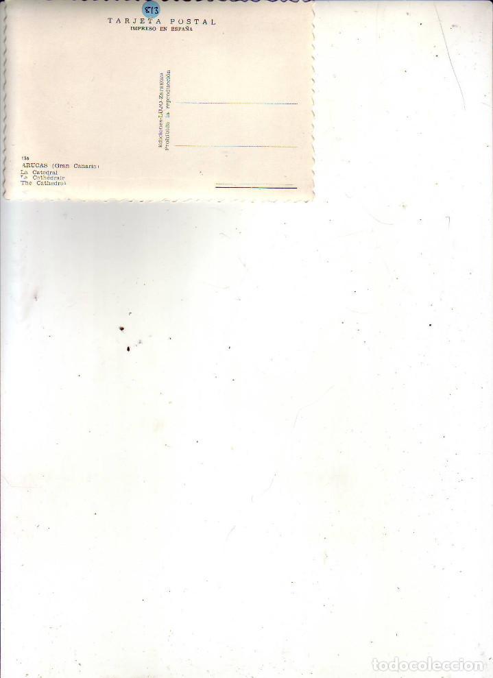 Postales: GRAN CANARIA LAS PALMAS LA CATEDRAL - Foto 2 - 186374800