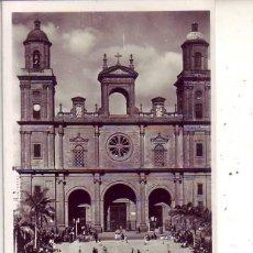 Postales: GRAN CANARIA LAS PALMAS LA CATEDRAL. Lote 186374832