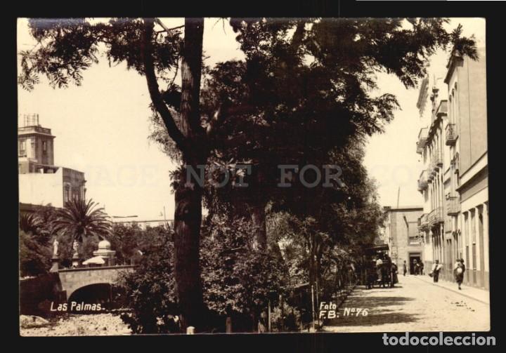 TARJETA POSTAL ANTIGUA LAS PALMAS FOTO FB N°76 - MUY LINDA VISTA (Postales - España - Canarias Antigua (hasta 1939))