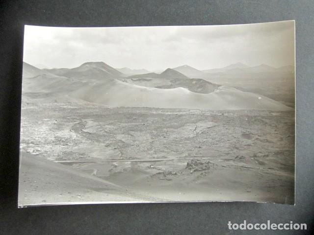 POSTAL LANZAROTE. MONTAÑAS DEL FUEGO. ED. ARRIBAS. (Postales - España - Canarias Moderna (desde 1940))