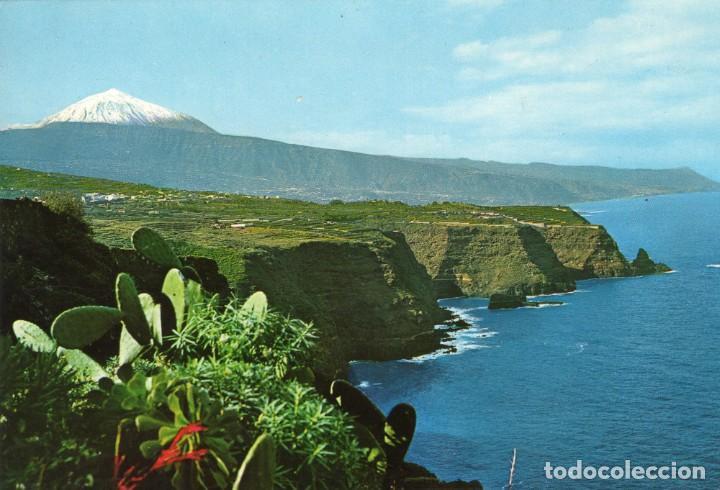 TENERIFE PAISAJE CON TEIDE Y MAR- (FARDI MOD. 131) SIN CIRCULAR / P-6378 (Postales - España - Canarias Moderna (desde 1940))
