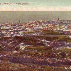 Postales: TENERIFE SANTA CRUZ VISTA GENERAL. Lote 187232730