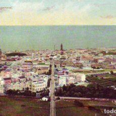 Postales: TENERIFE SANTA CRUZ VISTA GENERAL. Lote 187232777