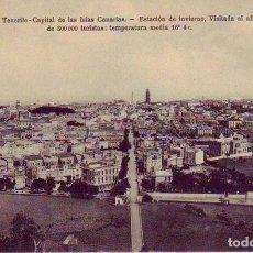 Postales: TENERIFE SANTA CRUZ CAPITAL CANARIAS. Lote 187232846