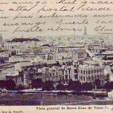 Postales: TENERIFE SANTA CRUZ VISTA GENERAL. Lote 187232867
