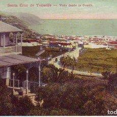 Postales: TENERIFE SANTA CRUZ VISTA DESDE LA CUESTA. Lote 187232923