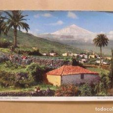 Postales: POSTAL - TENERIFE, PANORAMICA DE SANTA URSULA - ED. JOHN HINDE. Lote 187392043