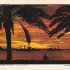 Postales: POSTAL PUERTO DE LA LUZ. LAS PALMAS DE GRAN CANARIA . Lote 187451960