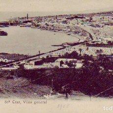 Postales: TENERIFE SANTA CRUZ VISTA GENERAL. Lote 189236908