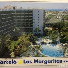 Postales: CANARIAS, POSTAL DEL HOTEL LAS MARGARITAS EN GRAN CANARIA. Lote 189356546