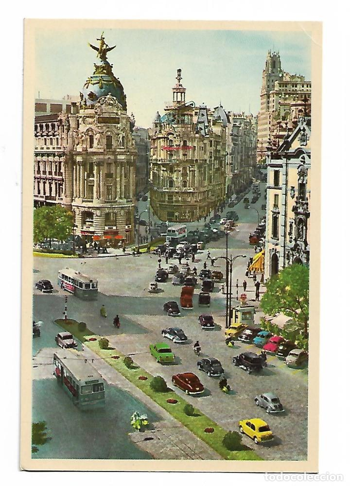 ALCALÁ Y GRAN VIA (Postales - España - Canarias Moderna (desde 1940))